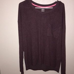 SO Purple Long Sleeve Tee size XL